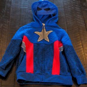 Captain america Zip-up Hoodie